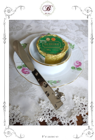 ネズミ付きバターナイフ