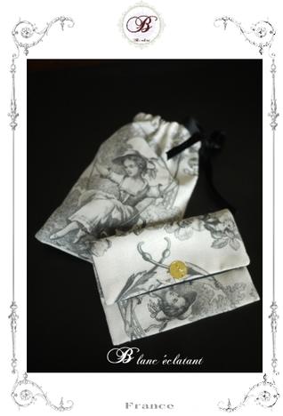 パリのお店②眼鏡ケース&小物入れ セット