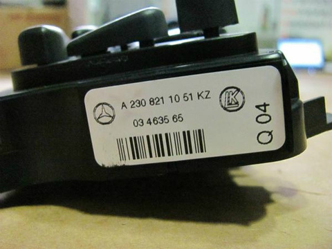 中古 ベンツ R230 SL500 助手席 2308211051 右パワーシートスイッチ SL280 SL350 SL500 SL600 SL55 SL63