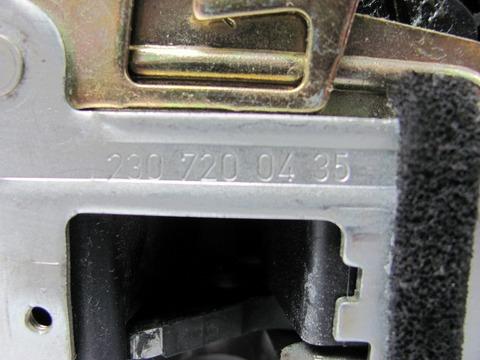 中古 ベンツ R230 右ドアロックアクチュエーター 2307200835 SL350 SL500 SL600 SL55 SL65