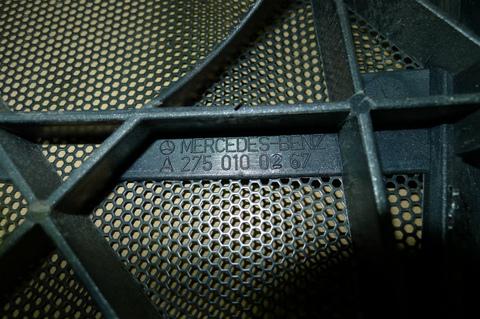 中古 ベンツ W220 R230 W216 エンジンカバー 2750100267