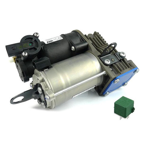 純正OEM AMK製 ベンツ Sクラス W221 エアサスコンプレッサー/エアサスポンプ リレー付き 2213201704 0025422319 0025427619
