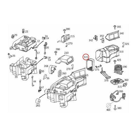 BOSCH製 ベンツ W202 R170 W208 エアコンフィルター/キャビンフィルター 2108300818 2108300918 2108301218 C3870WS