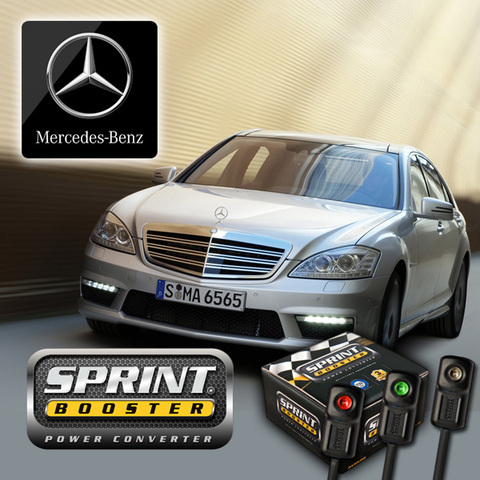 ベンツ SPRINT BOOSTER スプリントブースター Sクラス W221 3パターンモード切換機能 S350 S500L S550L S600L S63 SBDD451A