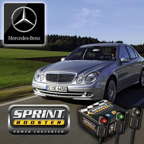 ベンツ SPRINT BOOSTER スプリントブースター Eクラス W210 W211 3モード E230 E320 E400 E350 E500 E550 E55 E63 SBDD451A