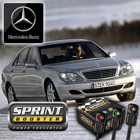 ベンツ SPRINT BOOSTER スプリントブースター Sクラス W220 3モード S320 S350 S430 S500 S500L S600 S55 S55L SBDD451A