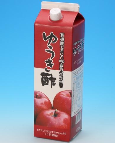 ゆうき酢1.8L 1本