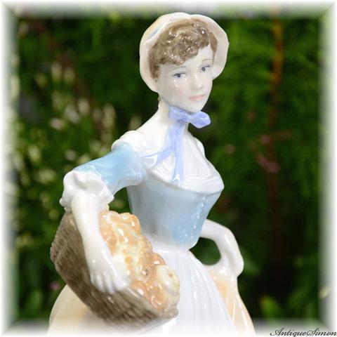 ロイヤルウースター ROYAL WORCESTER 限定生産品フィギュリン Baker's Wife 貴婦人