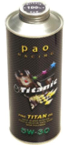 ノンポリマーパオ100レーシング   5W-30 1L