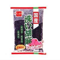 健康フーズ 国産洗い胡麻(黒) 100g