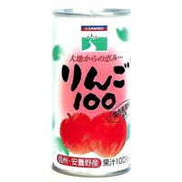 三育フーズ りんご100 190g×30缶
