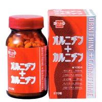 健康フーズ オルニチン+カルニチン 120粒