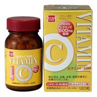 健康フーズ ビタミンC500 120粒