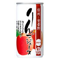 ゴールドパック 信州安曇野りんごジュース 190g×30缶