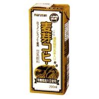 マルサン 麦芽豆漿コーヒー 200ml×24本