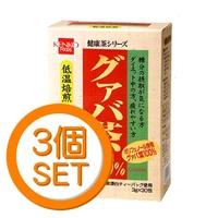 健康フーズ グァバ茶(TB) 30包×3箱セット