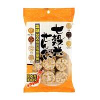 健康フーズ 七穀米せんべい 塩味 50g