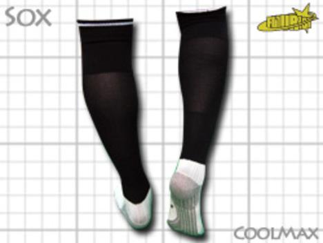 CoolMAX採用 コンプレッションソックス 黒 S or M or Lサイズ