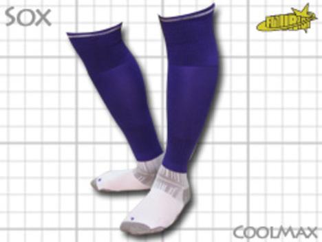 CoolMAX採用 コンプレッションソックス 紫 S or M or Lサイズ