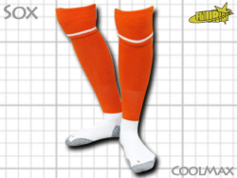 CoolMAX採用 コンプレッションソックス オレンジ S or M or Lサイズ