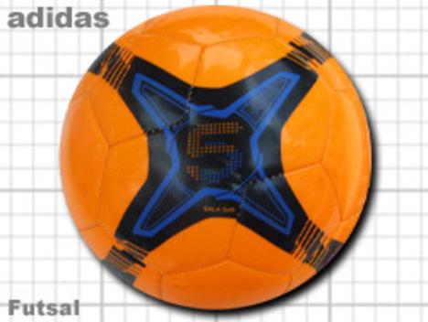 アディダス フットサルボール 5x5 オレンジ