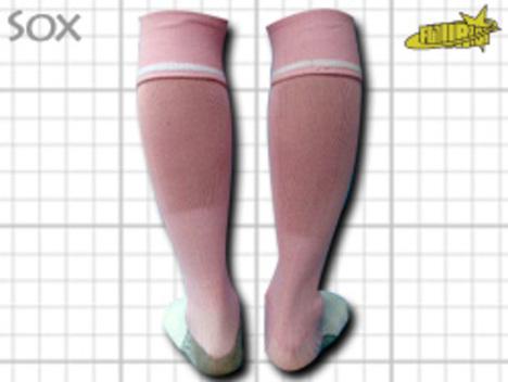 CoolMAX採用 コンプレッションソックス 桃色ピンク S or M or Lサイズ