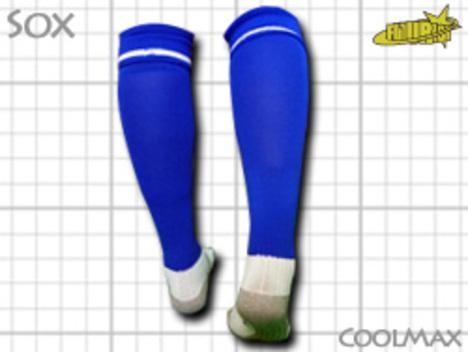 CoolMAX採用 コンプレッションソックス 青 S or M or Lサイズ