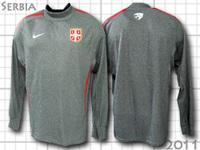セルビア代表 トレーニングライトスウェット