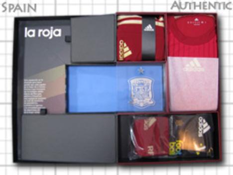 スペイン代表 オーセンキット BOX