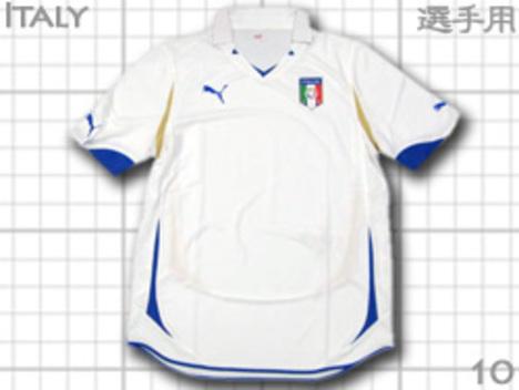 イタリア代表 アウェイ 選手用