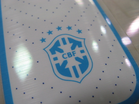 【W杯2014】 ブラジル代表 アウェイ用オフィシャルナンバー