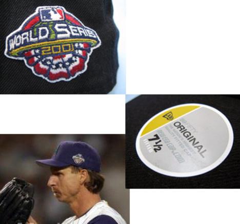 newera MLB オーセンキャップ ダイアモンドバックス 2001ワールドシリーズ