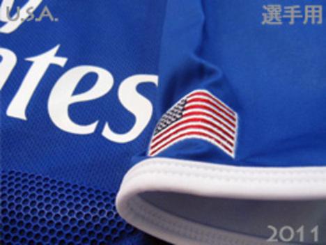 【ラグビー】 2011 アメリカ代表 3rd(青赤) カンタベリー製