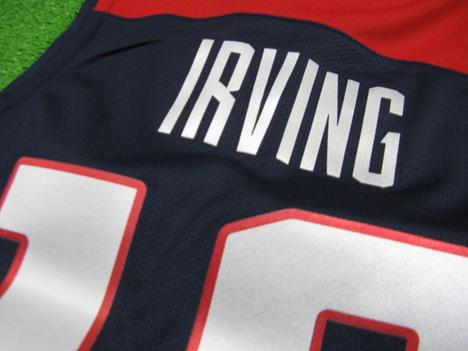 【オーセンティック】 バスケ・アメリカ代表 10番:カイリー・アービング Irving Away(紺) NIKE