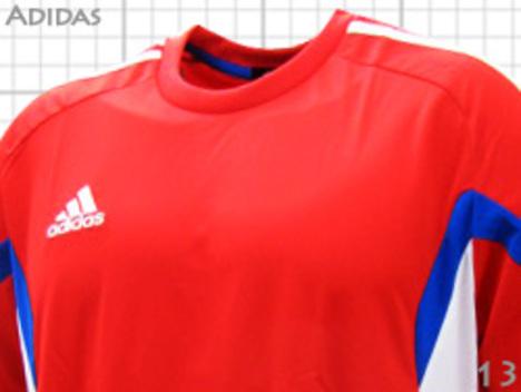 【在庫限り】 adidas チーム用ユニフォーム・フランキ 赤 【¥1999+税】