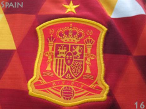 スペイン代表 アウェイ