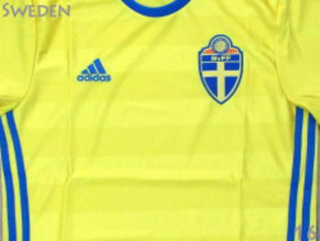 16 スウェーデン代表 ホーム