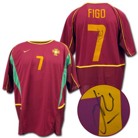 ポルトガル代表 フィーゴサイン入り
