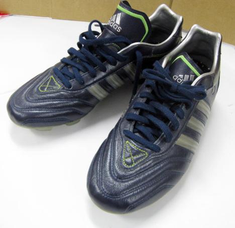 【送料無料】【adidas】 アディダス アディピュア ジャパン TRX HG+ 【ネイビー×シルバー】サッカースパイク