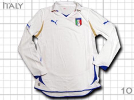 イタリア代表 アウェイ 長袖