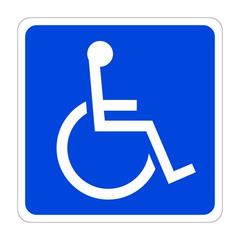 身障者(障害者)用設備ステッカー