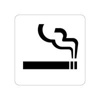 喫煙所ステッカー