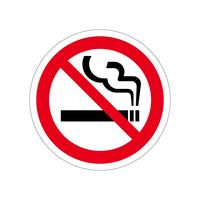 禁煙ステッカー