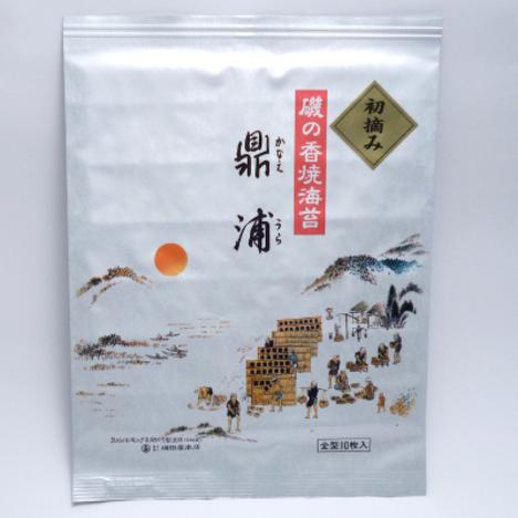 焼のり鼎浦初摘み8帖缶入