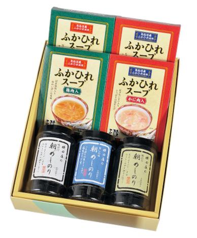 朝めしのり・ふかひれスープ詰め合わせ【品番707】