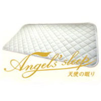 "Angel' sleep 敷きパッド""天使の眠り""  コットンラッセル・シングルサイズ"