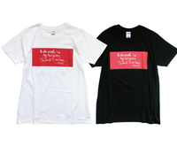 鈴木大拙 遺墨Tシャツ「To do good is my religion The world is my home」