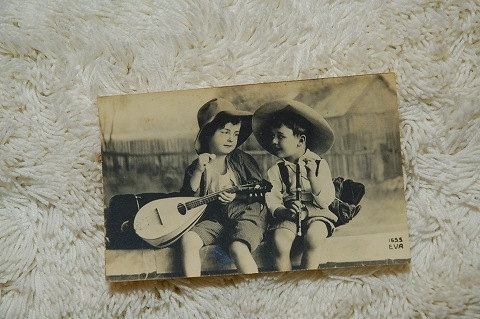 映画ブロマイド『二人の少年』
