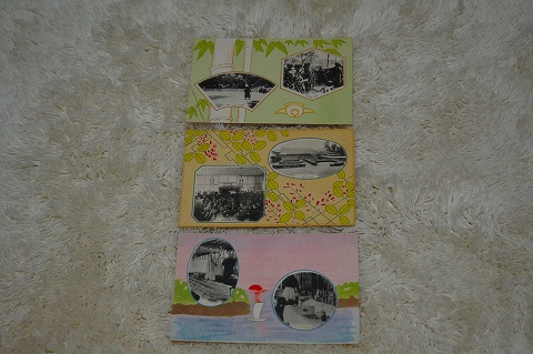 日本絵葉書『仙台女学校 3枚一括』戦前