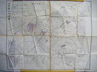 昭和初 戦前 地図 絵図 満州 中国『ハルピン 市街 全図』